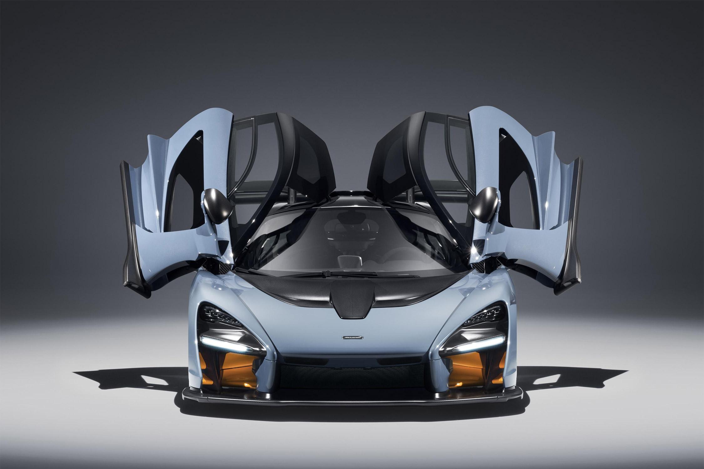 La nouvelle McLaren Senna en fibre de carbone est une merveille