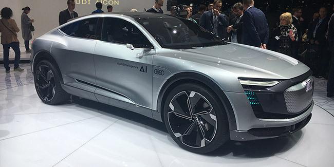 Concept électrique et autonome au salon de Francfort — Audi Aicon